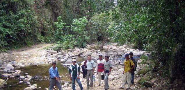 Renforcer les comités des bassins-versants de la rivière Parapeti en Bolivie