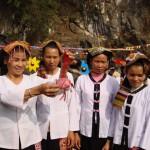 Conservar de la antigua lengua tailandesa de Vietnam
