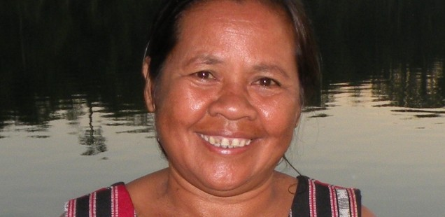 Dam Chanty: courageous organiser of indigenous peoples in Ratanakiri province (Cambodia)