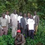 Enfrentar el cambio climático mediante en Uganda