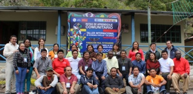 "Community savings and loans - Joint learning towards the ""good life"" (Ecuador)"