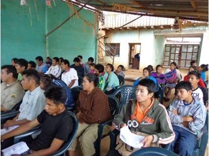 Contrôle et administration des ressources minérales dans un territoire indigène - Bolivie