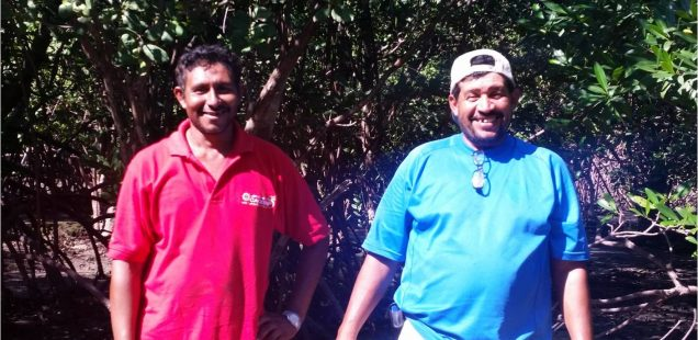 José Leónidas Ramos and Danilo Gómez, champions of ecological community development (Honduras)